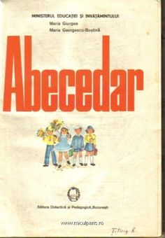 Abecedar, prima pagina Vintage School, My Memory, Child Development, Children, Kids, Nostalgia, Preschool, Parenting, Memories
