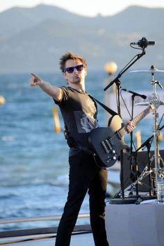 Matt Bellamy - Le Grand Journal - Cannes, 23/05/13