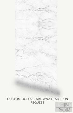 20 % OFF Marble Pattern removable Wallpaper by ThinkNoirWallpaper