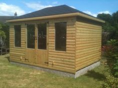 Garden Room with Hip Roof, 14 x 10 made to order by Davies timber Wales, Cwmbran, Wales