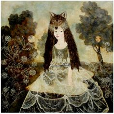 Cave to Canvas, Anne Siems, Wolf Girl, 2012 Illustrations, Illustration Art, Girl Artist, Wolf Girl, Red Riding Hood, Little Red, New Art, Folk Art, Fairy Tales
