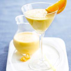 Milkshake orange-vanille