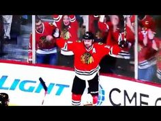 Watch the playoff pregame video played just before lights out at the United Center. Blackhawks Hockey, Hockey Mom, Hockey Teams, Chicago Blackhawks, Nhl Chicago, United Center, First Round, Girls Best Friend, Black Men