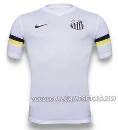 Santos FC, Home Kit (Nike, 2013/2014)