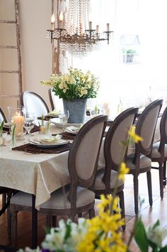 The spring table.