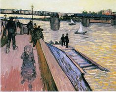The Athenaeum - The Bridge of Trinquetaille (Vincent van Gogh - )