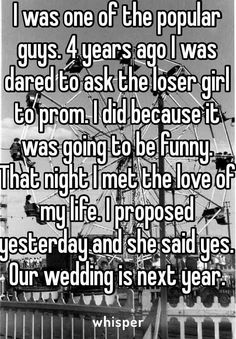 Literally the plot to all prom movies