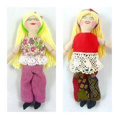 Toy Blonde Dress Up Dolls for Kids by JoellesDolls on Etsy