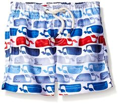 91b6b0cd7e951 Mud Pie Baby Boys Swim Trunks Whale 1218 Months ** You can get additional  details
