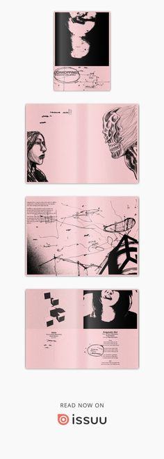 ENIGMATIC GIRL EP/2016/DICORATCORET  Jonkoppings's Enigmatic Girl EP booklet CORAT-CORETED edition.