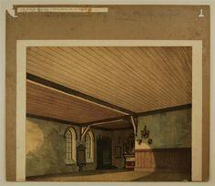Burgkapelle - Hintergrund. Nr. 73.