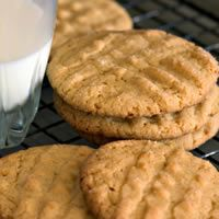 Peanut Butter Cookies--really good and really simple!
