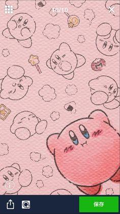 任天堂は、無料通話・メールアプリ「LINE」の公式アカウントにおいて、『星のカービィ』の壁紙を配布しています。