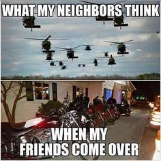 HAHA They just need to deal! #bikerhumor #chopperexchange