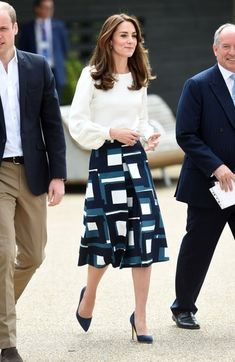 Kate Middleton's style. Easy work style to copy. #KateMiddleton #WearToWork #shopthelook #SpringStyle
