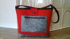 Einkaufstasche aus Filz- Rückseite
