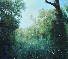 ELEMENTAL VI 16x18 oil on canvas 2014