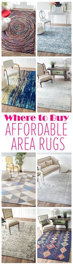 Space remodels and room refreshes are tough on the wallet! Visit RugsUSA.com for affordability, quality, variety, and savings up to 80% off!