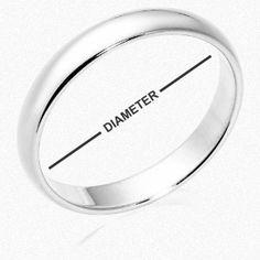 Wil je online een ring bestellen, maar weet je niet precies welke maat je moet nemen? Bepaal je ringmaat aan de hand van onze ringmatentabel!