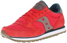 Saucony Originals Womens Jazz Lowpro Classic Retro Running Shoe RedTeal 5 M US -- Want to know more, click on the image.