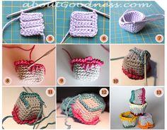 Hot Air Balloons: Crochet Amigurumi Toys DIY Free Pattern   aboutGoodness.com