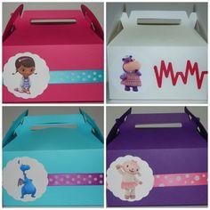 Doc McStuffins Favor caja por DesignsByKerriB en Etsy