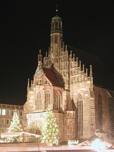 Nuremberg, Germany at Christmas