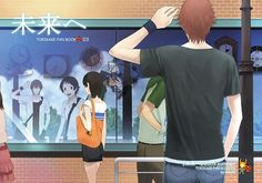 Tags: Anime, MADHOUSE, Pixiv, Toki wo Kakeru Shoujo, Mamiya Chiaki