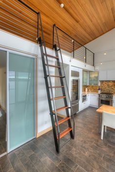 Tsunami House, Camano Island WA. ++ loft area
