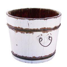 Found it at Wayfair - Vintage Wooden Sink Bucket in White http://www.wayfair.com/daily-sales/p/Country-Kitchen-Storage-%26-Decor-Vintage-Wooden-Sink-Bucket-in-White~SQW2089~E8995.html?refid=SBP.rBAZEVLTS_ZciDBIh5VqAhMNSCMPQklxvVf9-2q6moI paint buckets or whitewash