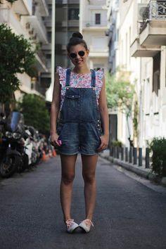 Tati // Karavan Clothing  blog.karavanclothing.com #karavanclothing #karavan #tatikaravan We Wear, How To Wear, Overall Shorts, Overalls, June, Comfy, Casual, Girls, Blog