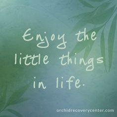 #enjoylife #thelittlethings #life #recovery #newbeginning #quoteoftheday #inspirational #wordsofwisdom #changeforlife