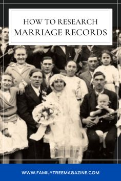 Become an expert at tracking down marriage records with this in-depth guide to researching marriage records throughout history.