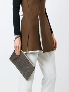 #ninaricci #bags #clutches #grey #snake #leather #women www.jofre.eu