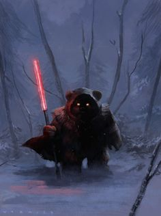 "nerdferby: "" 'Darth Ewok' by Mario Vazquez """