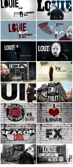 Louie -- I need this show like I need air to breathe.