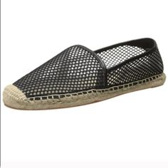 NEW! Rebecca Minkoff Espadrilles New in box, leather espadrilles by Rebecca Minkoff includes shoe bag.  Also have these in size 7.5. Rebecca Minkoff Shoes