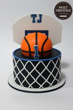 How to Make a Real Life Basketball Cake Cakes Cakes Cakes