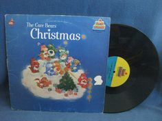 RARE Vintage The Care Bears Christmas Holiday by sweetleafvinyl