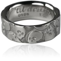 Multi Skull Gold Ring