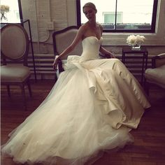 Truly by Zac Posen for David's Bridal.  All the dresses haven't been revealed, but omg...I'm already dying.