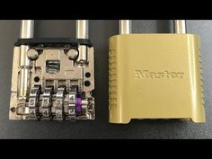 How to open Master Lock combination lock model without using any tools Emergency Locksmith, Homemade Weapons, Safe Lock, Survival Prepping, Survival Gadgets, Soldering Jewelry, Antique Keys, Combination Locks, Craftsman House Plans
