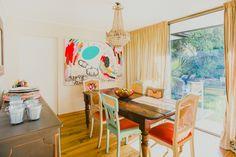 Virginia Demaria y Arsenio Molina, chef e ingeniero comercial Home Deco, House Tours, Virginia, Sweet Home, Blog, Painting, Art, Ideas, Color Coordination
