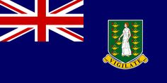 National flag of the British Virgin Islands from http://www.flagsinformation.com/british_virgin_islands-country-flag.html   Blue, with the flag of the UK in the upper hoist-side quadrant and the Virgin Islander coat of arms centered in the outer half of the flag; the coat of arms depicts a woman flanked on either side by a vertical column of six oil lamps above a scroll bearing the Latin word VIGILATE (Be Watchful).