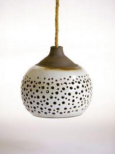 ceramic hanging lamp