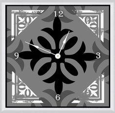 "I 20"" Art Wall Clock"