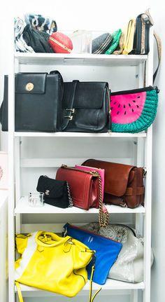 Bag closet, anyone?