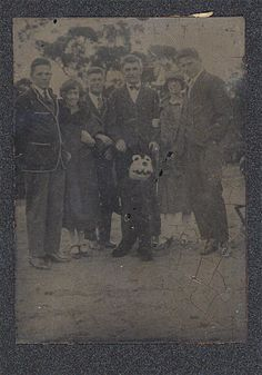 Pam's Pictorama Photo Post: This is an area of my collection that I realize is perhaps a bit obscure. I have a clutch of these tintypes, about a half dozen, of people posing with Felix. Unlike the ...