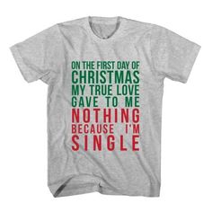 37cca2584d T-Shirt On The First Day Of Christmas
