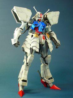 1/100 MG RX-78-2 Gundam [the White Devil] by papayos Kits Used: -Volks 1/100 Black Knight (FSS) -MG Gundam (OYW)